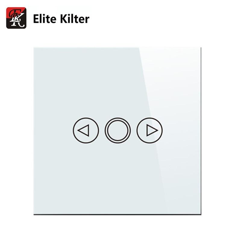 Elite Kilter EU/UK Standard Touch Dimmer Switch Smart Switch LED Dimmer Switch For Dimmable Spot Lights touch switch eu standard dimmer