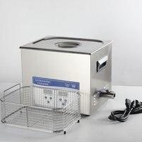 10L Ультразвуковой очиститель с отоплением таймер для медицинского, бытового, промышленной очистки
