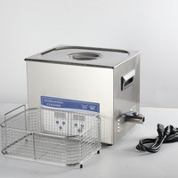 10L Ultrasonic Cleaner with Heating Timer for Medical, household, industrial cleaning