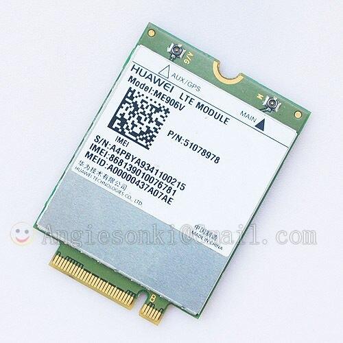 Nachdenklich Entsperrt Huawei Me906v Wireless 4g Ngff M2m Lte/hspa/wcdma Computer & Büro Networking Fdd 3g 4g Pflege Net Wwan Modul Karte Für Dell Venue