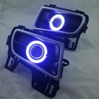 DRL COB angel eye (5 colors) + halogen fog lamp + projector lens + fog lamp cover for mazda 6