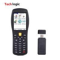 Techlogic X7 Беспроводной сканер штрихкодов Ручной termindal PDA считывания штрих кодов для склада инвентаризации супермаркет бар пистолет