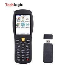 Techlogic X7 Wireless Laser Barcode Scanner Handheld Termindal PDA Barcode Reader for Warehouse Supermarket Inventory Bar Gun