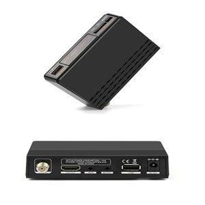 Image 4 - Gt media fta DVB S2 receptor de tv por satélite v7s hd 1080 p suporte youtube powervu com usb wifi + 1 ano cccam linhas de freesat v7