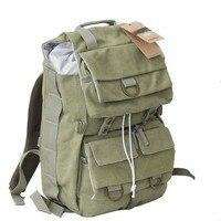 C003 Card Rui Er Canvas SLR Camera Bag Bag Retro Digital Camera Backpack Backpack