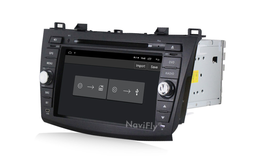 Clearance Android 9.1 Car Radio Multimedia for Mazda 3 Mazda 3 maxx Axela 2010-2013 2din car dvd gps navigation player headunit 16