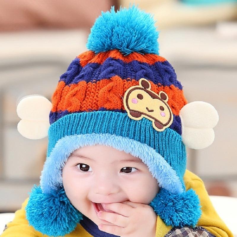 4138a4c17a2f Caps For Children Accessories Woolen Baby Girls Autumn Hat Beanie ...