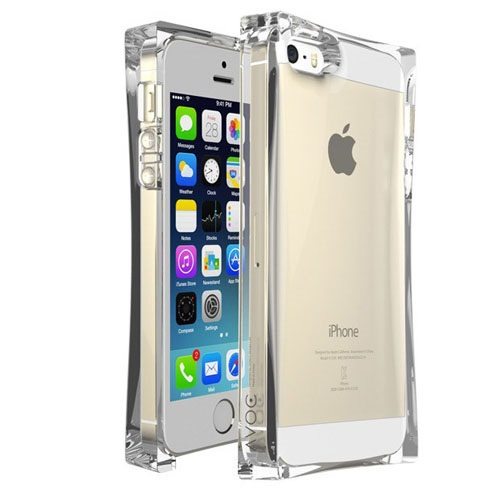 new photos 48175 d7186 US $11.99 |Zenus Avoc Ice Cube Protective Crystal Silicone Case for iPhone  5 & 5S Clear on Aliexpress.com | Alibaba Group