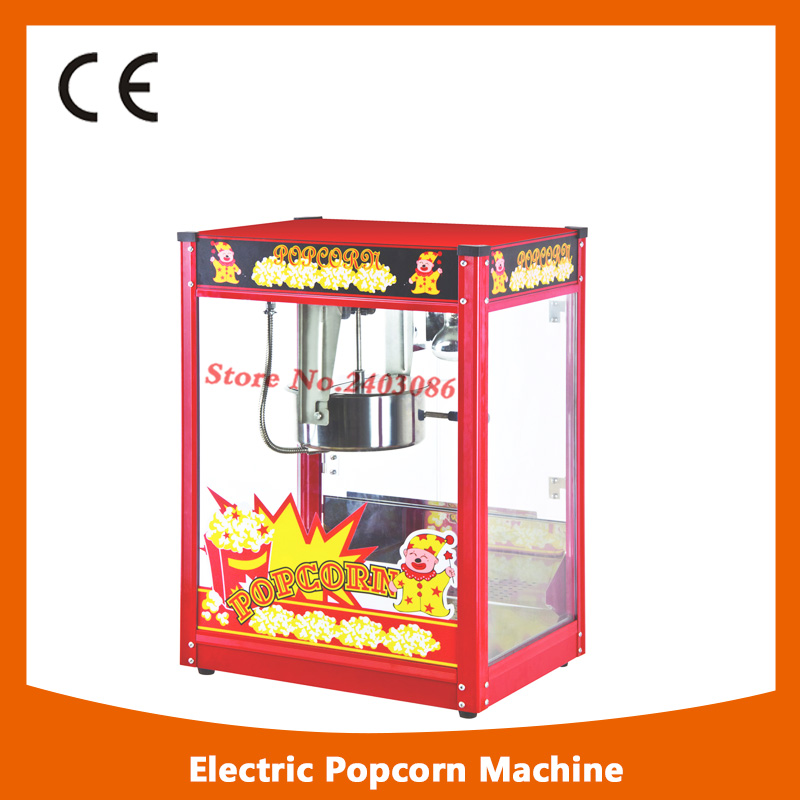 Electric standard Popcorn Machine /good quality Popcorn Maker with Luxury Top 8Oz pop 08 commercial electric popcorn machine popcorn maker for coffee shop popcorn making machine