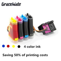 Replacement For HP ENVY 4520 4521 4522 4523 4524 Printer Ink Cartridge 302 302XL For ENVY 4520 printer Refillable CISS