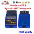 Newest Vgate ELM327 V1.5 Firmware Bluetooth OBD2 Automotive Scanner ELM 327 Vgate Scan OBDII Code Reader For Multi-brand Cars