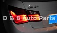 1 пара Высокое качество светодиодные задние свет светодиодной подсветкой задние фонари подходит для Chevrolet Cruze 2010' up