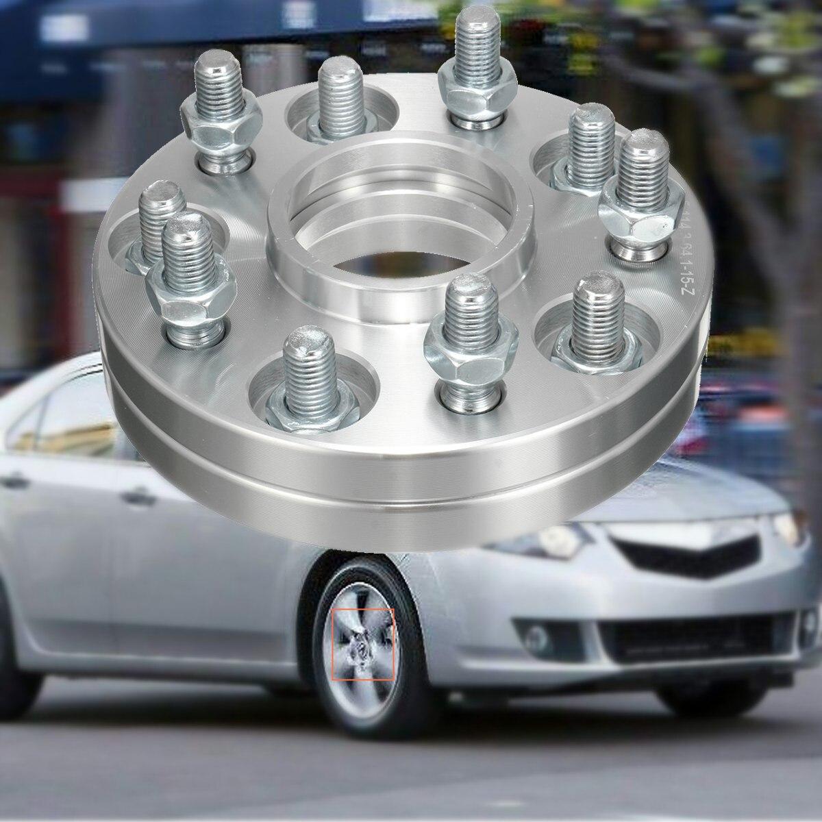 2 uds par personalizado 5x114,3 15MM 64,1mm Hubcentric rueda espaciador adaptadores para Honda para Acura-in Accesorios de neumáticos from Automóviles y motocicletas