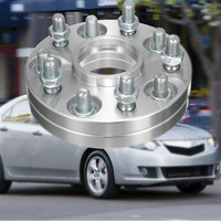 Acra를위한 honda를위한 2 pcs 쌍 주문 5x114.3 15mm 64.1mm hubcentric 바퀴 간격 장치 접합기|타이어 액세설|   -