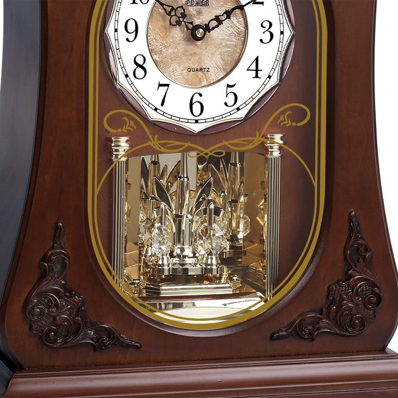 Чисто нов висок клас дървен часовник - Декор за дома - Снимка 4