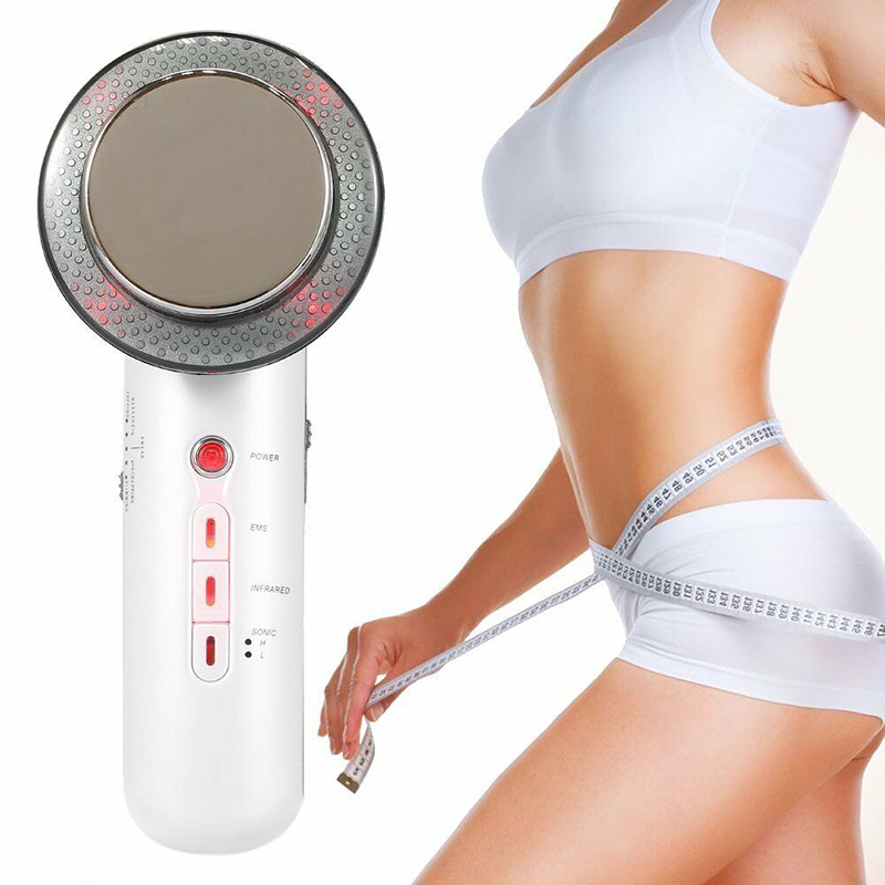 Ultrasonic Cellulite Remover Galvanic EMS Photon SPA Body Infrared Fat Removal Therapy Beauty Facial Slimming Devic(China)
