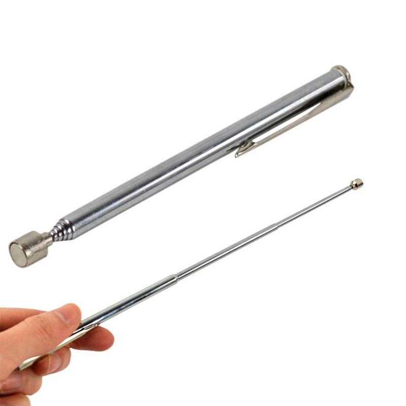 Portable Telescopic Easy Magnetic Pick Up Rod Stick Extending Magnet Handheld Tool Telescopic Magnetic Pick Up Pen ms 323 portable screw magnetic pick up rod tool stick extending magnet 1lb