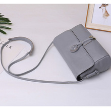 high quality genuine leather casual 2018 summer  shoulder medium flap satchel leisure handbag crossbody women bag