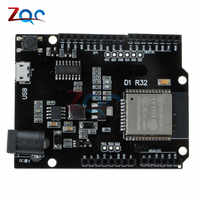 For ESP32 WiFi Bluetooth 4MB Flash For Wemos D1 R32 Development Board Module For Arduino UNO R3 One
