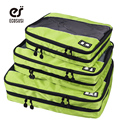 ECOSUSI 3pc Set Packing Cube Double Women And Men's Travel Bags Nylon Business Man Storage Bags Portable Travel Bags