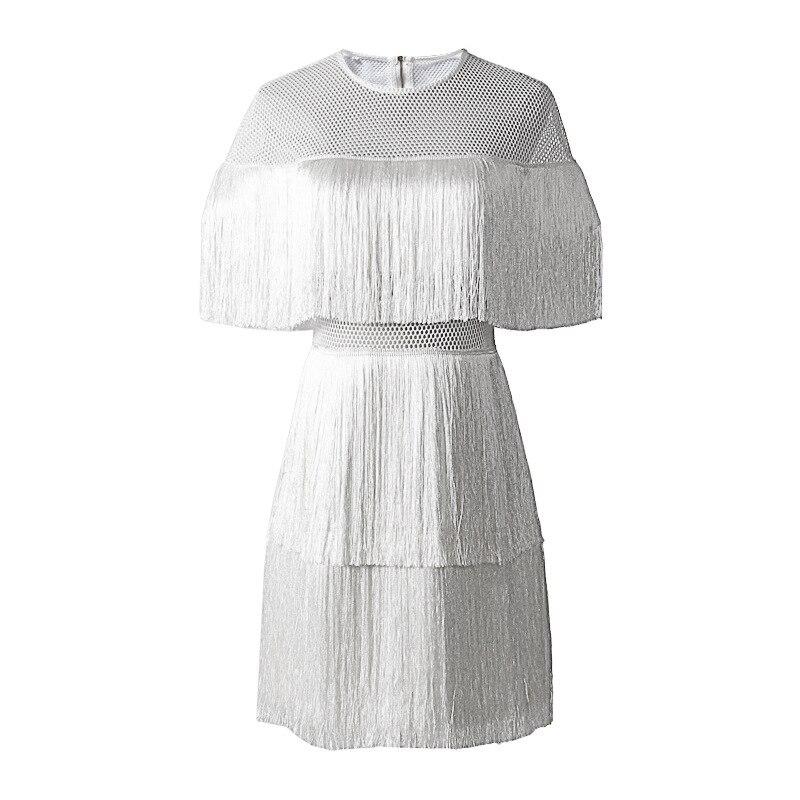 Dress Del Vestiti white Estate Tunica Sexy Della Grandi Mini Femminile Nappa gold 2018 Twotwinstyle Vestito Dei Black Alta Patchwork Dress Vita Fuori Dimensioni Scava Di Dress Da Modo qfp5FwZ