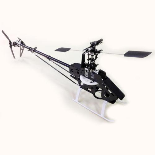 Gartt 450PRO Carbon Frame RC Helicopter Fits Align Trex 450 Kit цена