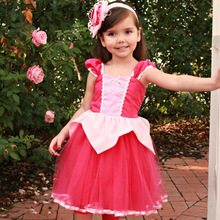 Retail Baby Girls Halloween Dress Toddler Kids Birthday Party Christmas  Dress Sofia Cinderella Bella Robe Princess 4ddfb93e146