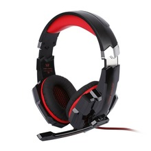 G9000 Computer Gaming Headset Microphone LED USB Jack 3.5mm Game Headphone 5V Earphone For Laptop Tablet Mobile Phones Headband