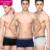 Plandoo 2017 mens underwear boxers hombres de negocios 100% algodón proteger la vitalidad de los espermatozoides 3 pack regalos de calidad hig