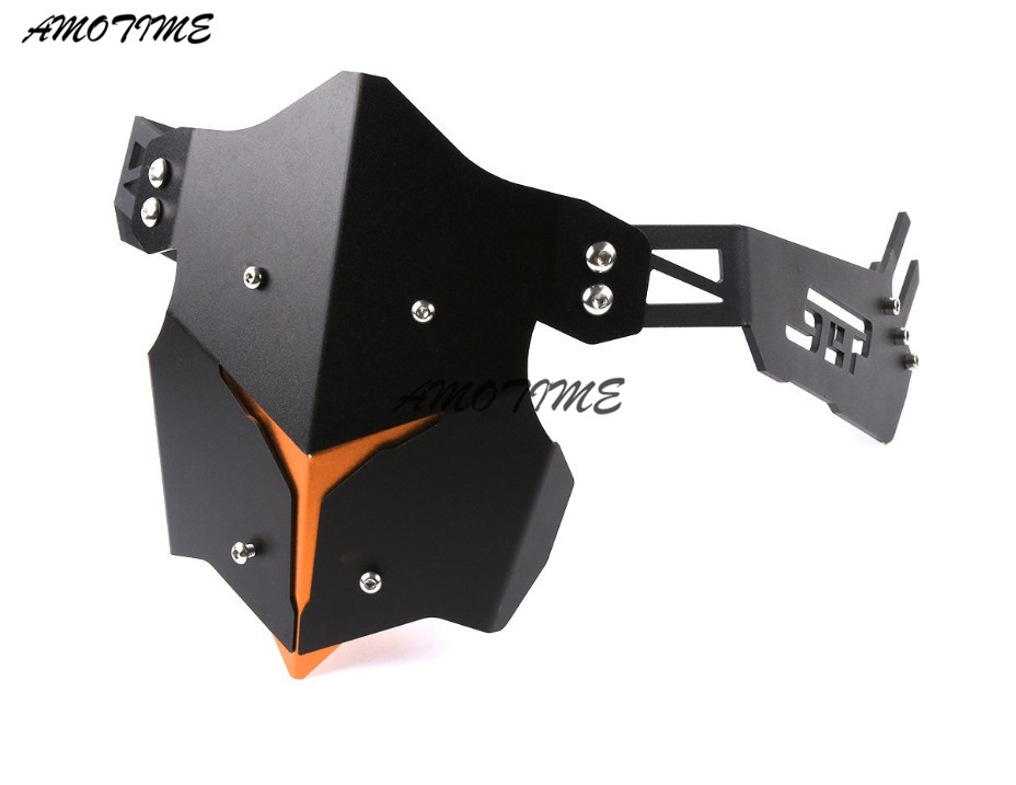 Motorcycle Accessories Rear fender bracket motorbike mudguard For Kawasaki Z800 Z900 ER6N