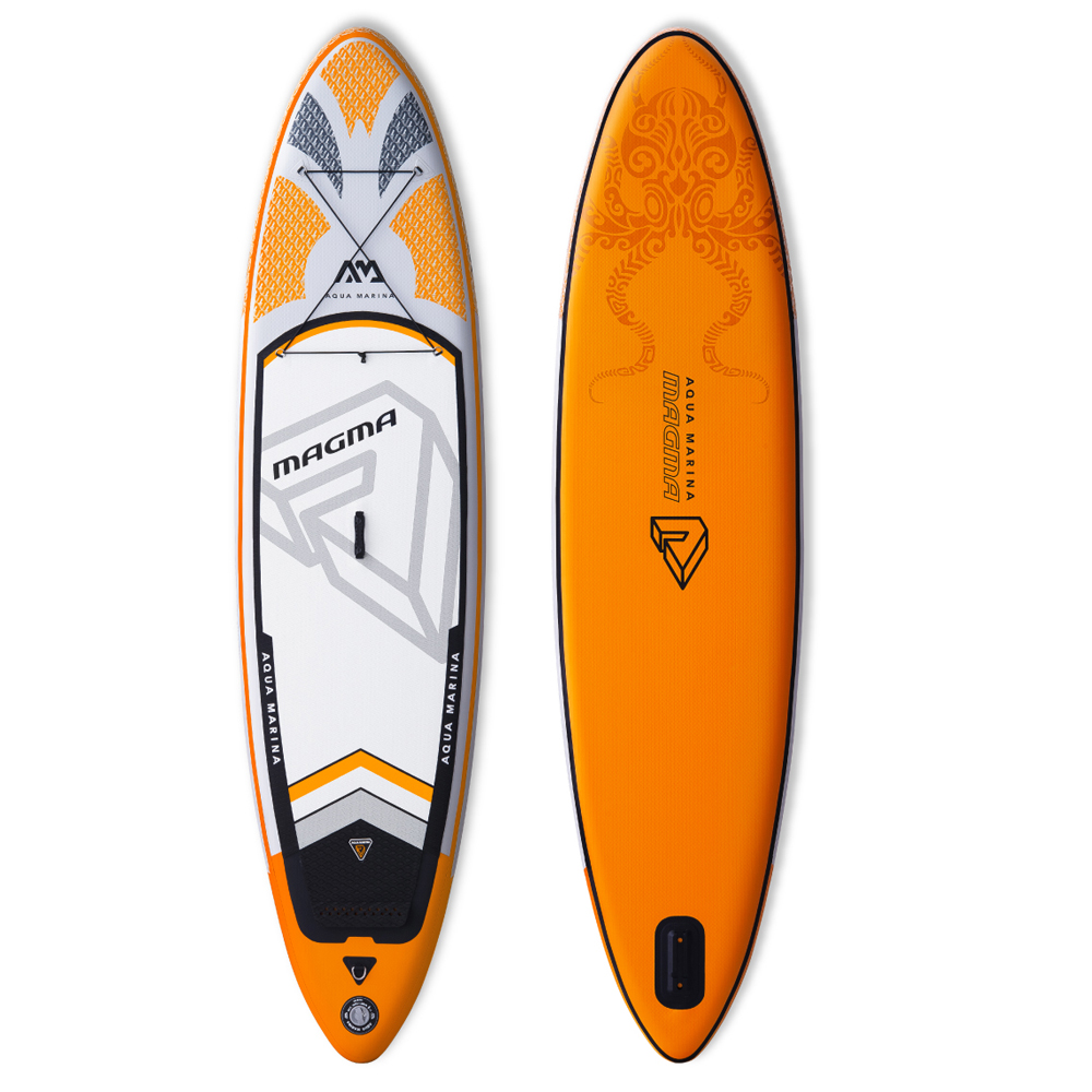 Aqua marina Magma gonfiabile SUP Stand up Paddle Board in tutto gonfiabile paddle board per esplorare