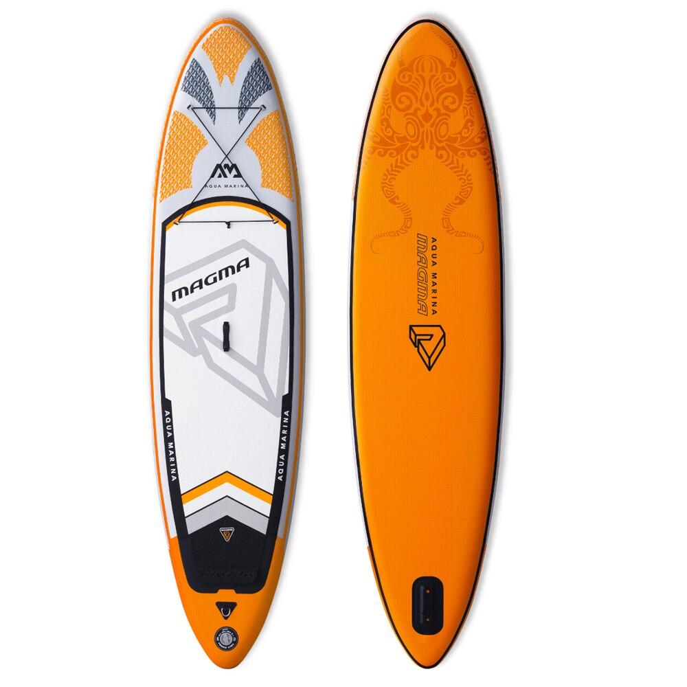 Aqua marina Magma gonflable SUP Stand up Paddle Board tout autour gonflable paddle board pour explorer