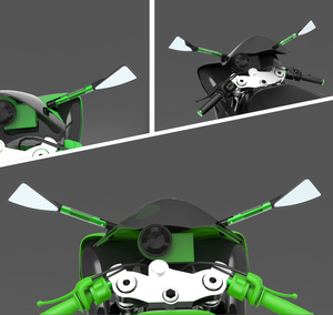 Image 5 - high quality Motorcycle Side Rear view Mirrors Universal Moto bike Back MirrorFor ducati 800ss 800 Supersport 900ss 900 sport