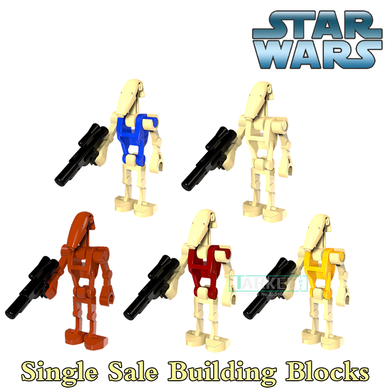 Star Wars Rogue One Combat Robot Doath Trooper K-2SO Single Building Bricks Christmas Kids Toys For Children PG8099 Model Gift