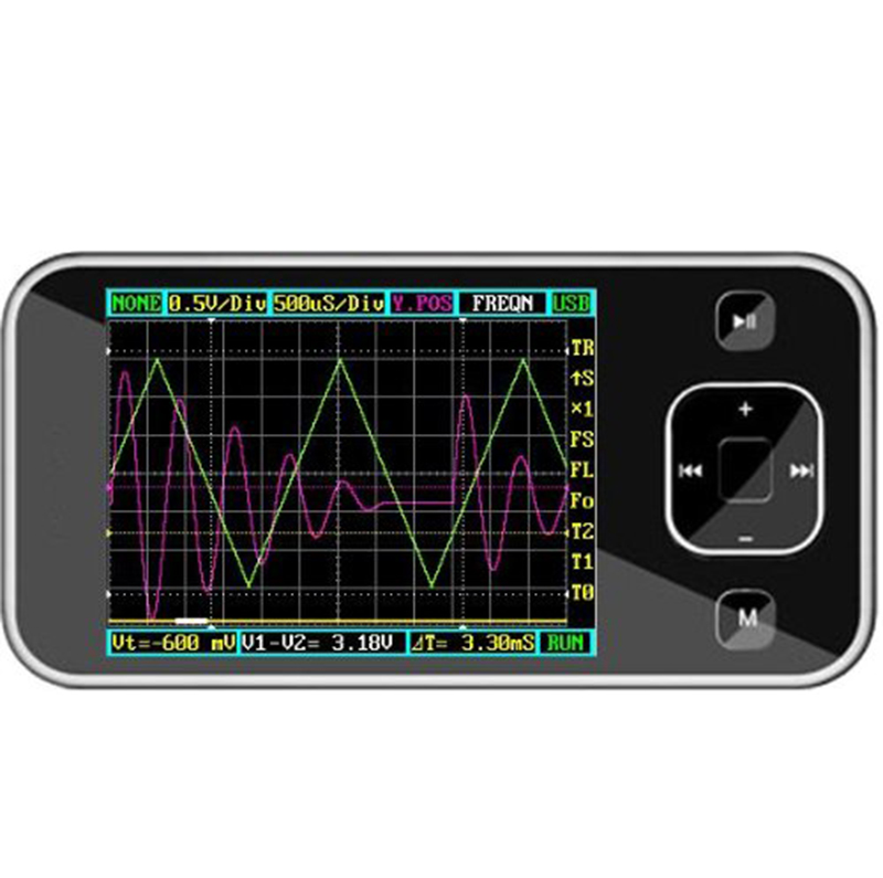 New!!! Portable Handheld Pocket-sized Nano Digital Storage Oscilloscope  цены