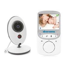 Bezprzewodowy cyfrowy wideo kamera do monitorowania dzieci muzyki domofon VB605 dwa Way dyskusja powrót nadzoru niemowląt przenośne kamera monitorująca s