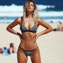 Bikini Set 2017 Summer Low Waist Swimwear Women Sexy Bench Swimsuit Bathing Suit Push Up Biquini Brazilian Maillot De Bain