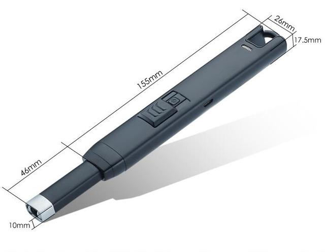 30 teile/los winddicht USB elektrische Leichter als rauchen ...