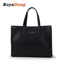 904075981f83 RoyaDong бренд 2018 для женщин сумки Высокое качество из искусственной кожи  большая сумка женская мода платье на плечо повседнев.