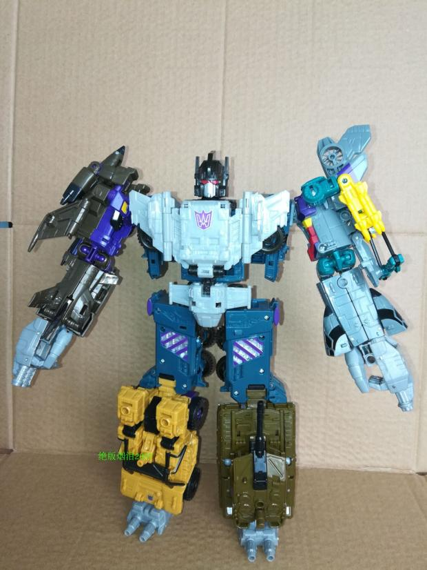 Lensple Transformation 5 in 1 Ko New Desigh Bruticus Classic Fit War G Series Mix Day Leopard Robot Figure Toys in Action Toy Figures from Toys Hobbies