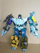 Lensple Transformation 5 in 1 Ko New Desigh Bruticus Classic Fit War G Series Mix Day Leopard Robot Figure Toys