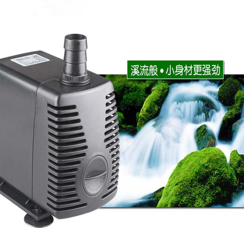 Energy saving aquarium fish tank submersible pump filter change the water pump power 55W head 3.0m flow 2300L / h free shipping new 220v ylj 500 500l h 8w submersible water pump aquarium fountain fish tank power saving copper wire