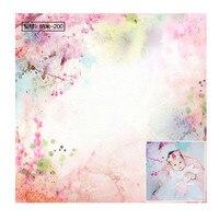 Vinyl Photography background Newborn Photo backdrop Floor drop Props Floral Pattern Photo Layer
