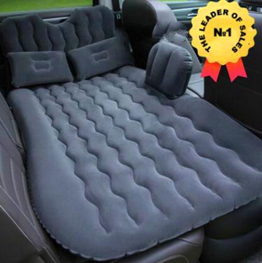 Colchón inflable cama de viaje Matelas Voiture cubierta de asiento trasero para coche cama de aire inflable cama de coche