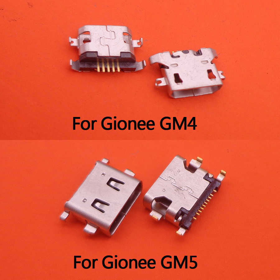 10PCS/LOT, for Gionee General mobil GM5 GM 5/GM4 GM 4 plus USB charging charger dock connector port plug replacement repair