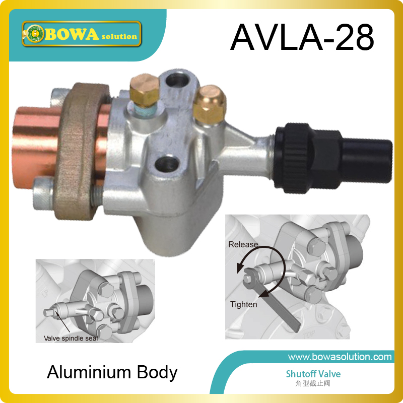 Aluminium shutoff valve as suction valve of FK20, FK30 and FKX open type compressors for mobile refrigeration and air condtioner aluminium shutoff valve as suction valve of fk20 fk30 and fkx open type compressors for mobile refrigeration and air condtioner