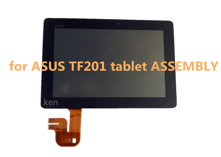 Free Shipping For Asus Transformer Pad TF201 TCP10C93 V0.3 Touch Screen Panel Digitizer Glass + LCD Display Screen Panel Assembl new for asus eee pad transformer prime tf201 version 1 0 touch screen glass digitizer panel tools v1 0
