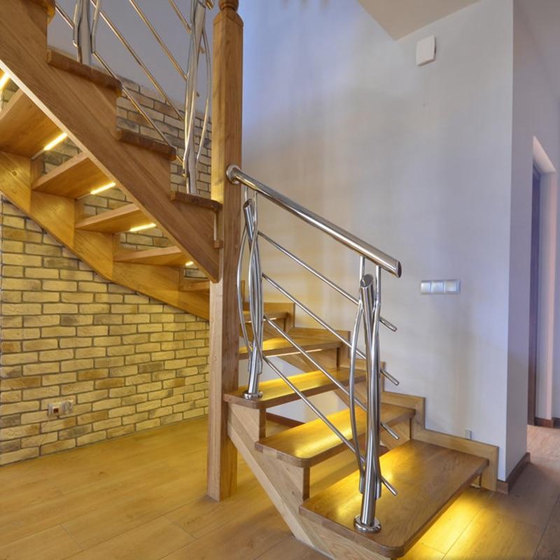 3M 2M 1M LED Smart Stair Lights Under Bed Light PIR Sensor Detector Control Intelligent Wall Lamp Cupboard Wardrobe Kitchen Lighting 5V (10)
