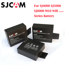 3PCS digital SJCAM Sj4000 Battery for SJCAM SJ4000 SJ5000 SJ6000 SJ8000 EKEN 4K H8 H9 GIT-LB101 GIT PG900 1050 Sports Camera free shipping original sjcam sj4000 series sj4000