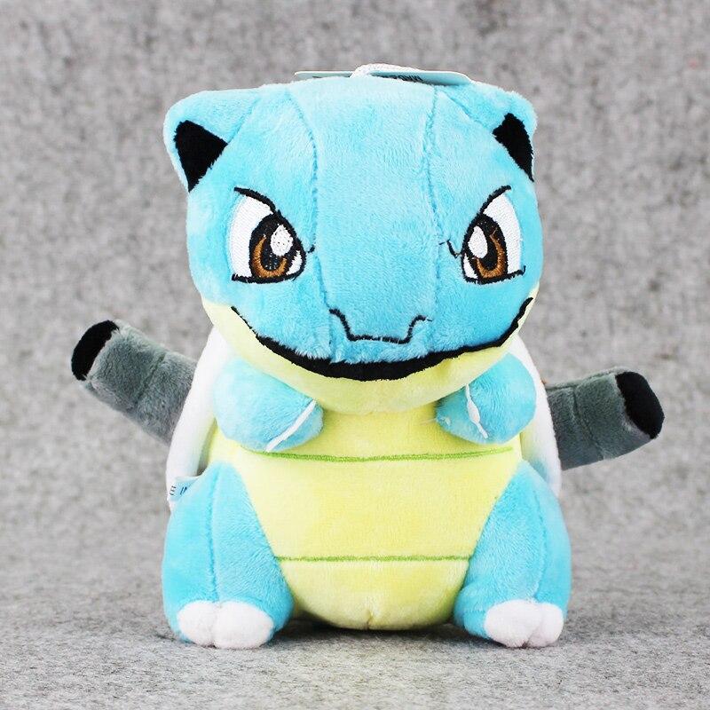 1pcs 18cm Toypia Blastoise Plush Toy Anime Cute Mini Turtle Blastoise Stuffed Toy Doll For Birthday